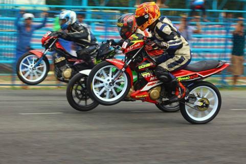 Vòng 5 giải đua Suzuki Raider chiến thắng thuộc về tay đua Củ Chi